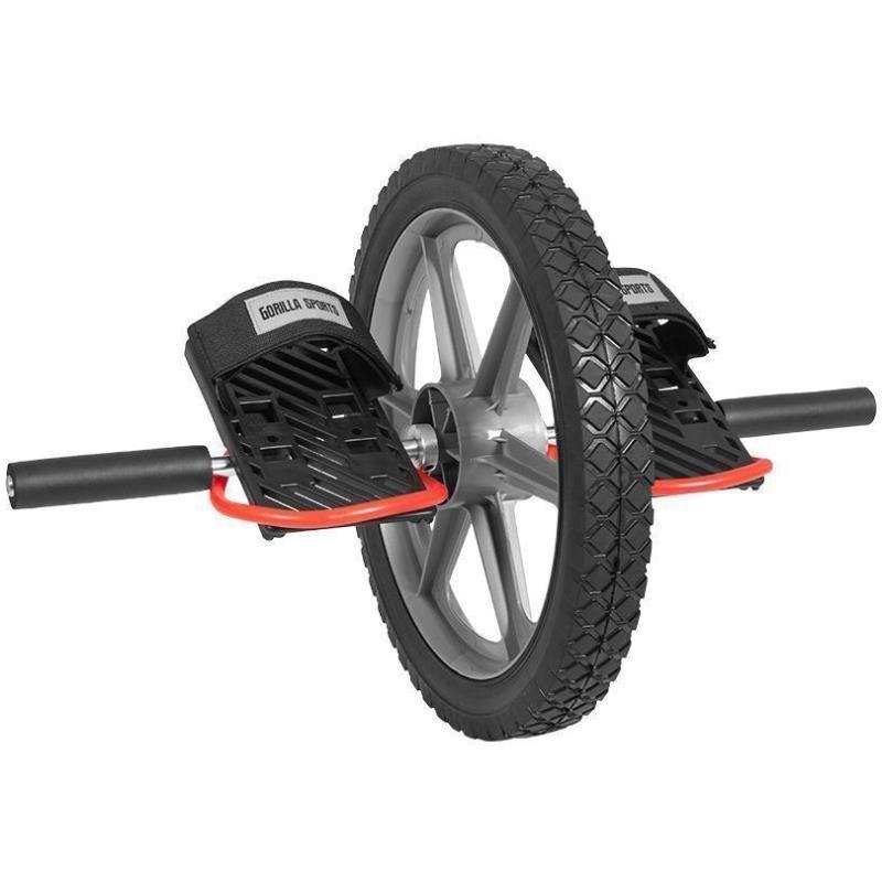 Gorilla Sports Power Wheel Abdominal Trainer