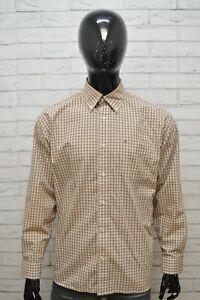 Camicia-Uomo-TOMMY-HILFIGER-Taglia-XL-Maglia-Polo-Cotone-Shirt-Hemd-Quadri