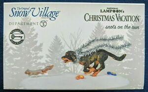 Dept 56 Christmas Vacation Snots On The Run 6005470