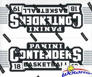 2018-19-Panini-Contenders-Basketball-MASSIVE-Sealed-JUMBO-FAT-PACK-Box-264-Cards