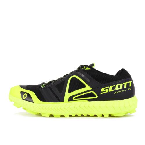 Scott Supertrac RC Black Yellow Laufschuhe Trailschuhe Schwarz Neon Gelb