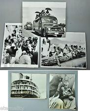 LOT 5 PHOTO MECCA MAKKAH KAABA SAUDI ARABIA ISLAM HAJJ HEJAZ BLACK WHITE 1950-70