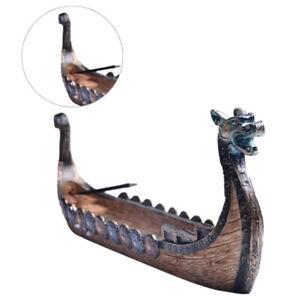 Details about Retro incense burners traditional the dragon boat incense  stick holder burner ^J