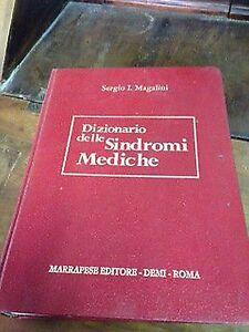 Sergio-I-Magalini-Dizionario-delle-sindromi-mediche-marrapese-1976
