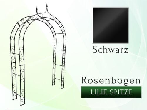 Metall Rosenbogen HOLLAND B 1,60m Lilie Spitze Gartenbogen Rosensäule Rosenbögen