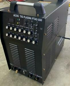 Equipment Innovations  PTAC-500 Pulse AC/DC TIG ARC and a Power full PLASMA CUTTER severs 3/4 inch mild steel Canada Preview