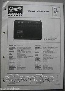 ITT-GRAETZ-Country-Corder-307-Service-Manual-TB007