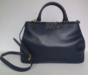 michael kors mk tasche handtasche florence satchel leder. Black Bedroom Furniture Sets. Home Design Ideas