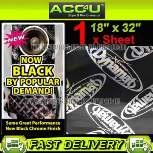 """Dynamat Xtreme Car Door Floor Hood Boot Sound Proofing Deadening 18/""""x32/"""" 1 Sheet"""