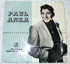 Paul  Anka  1957  EP  Diana  / Don't Gamble With Love / Love You Baby / Tell Me