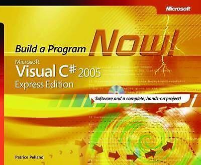 1 of 1 - Microsoft® Visual C#® 2005 Express Edition: Build a Program Now! (Pro-Developer)