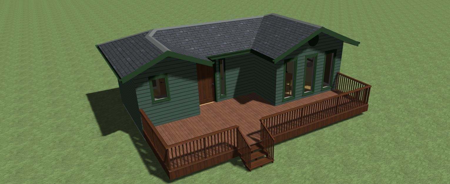 Tiny House Plan 400 sq.ft.