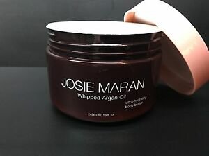 josie maran whipped argan oil ultra hydrating body butter 19 oz choose scent ebay. Black Bedroom Furniture Sets. Home Design Ideas