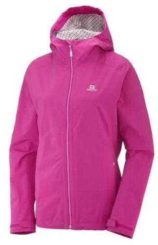 Pink Yarrow Salomon La Cote Flex 2.5L Womens Waterproof Jacket S18