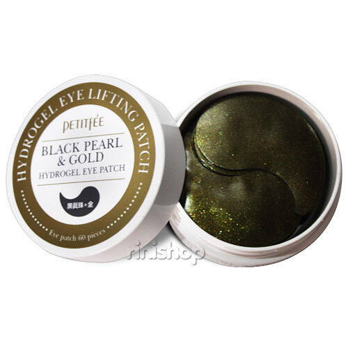 [PETITFEE] Black Pearl & Gold Hydro Gel Eye Patch(60 Sheet) rinishop(A)
