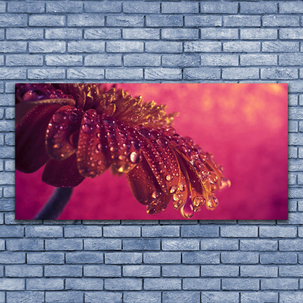 Canvas print Wall art on 140x70 Image Picture Tree Floral