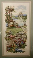 "New Dimensions ""GARDEN GAZEBO"" Stamped Cross Stitch Kit - #3172"