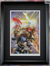 Guardians of the Galaxy Framed Movie Comic Poster by Alex Ross #/250 Signed COA