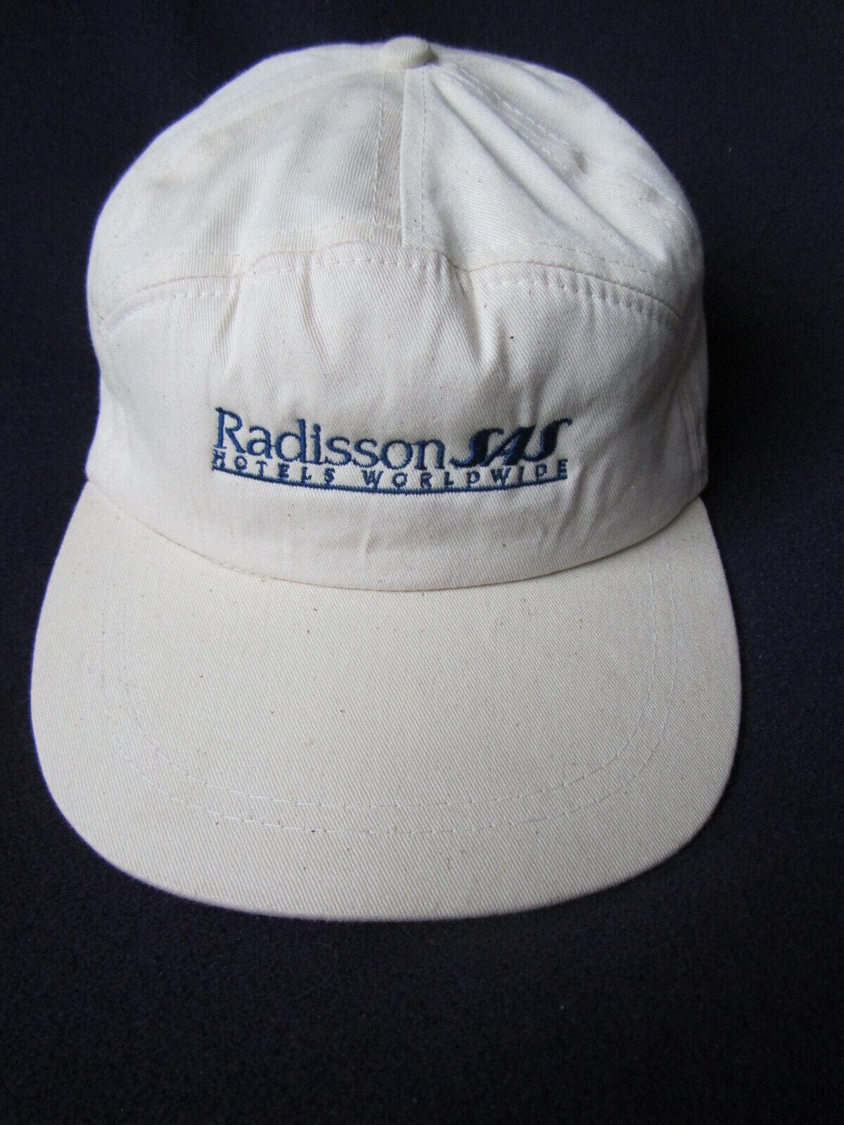 Baseball Cap Radisson SAS Hotel neu selten Sammlungsauflösung