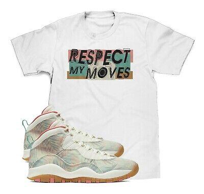 UZI Camo T-Shirt To Match Air Jordan Retro 10 Rattan Desert Camo Sneakers S-3XL