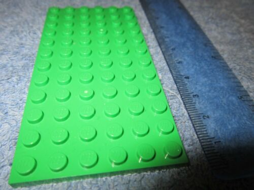 Lego  GREEN Base Plate Large 12 x 6 Building Baseplate