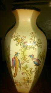 Crown-ducal-blush-hexagonal-vase-9-034-tall-approx