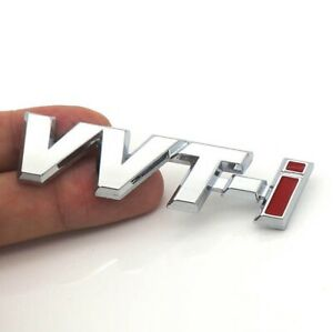 2-x-Toyota-VVT-i-3D-Metal-Badge-Decal-for-Camry-Corolla-Yaris-FT86-Cruiser-Hilux