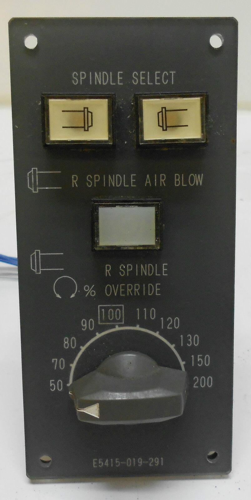 Okuma Operator Panel, E5415-019-291, Off LT25 Turning Center, Used, WARRANTY