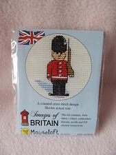 Images of Britain Collection Mouseloft Mini Cross Stitch Kit London Bus