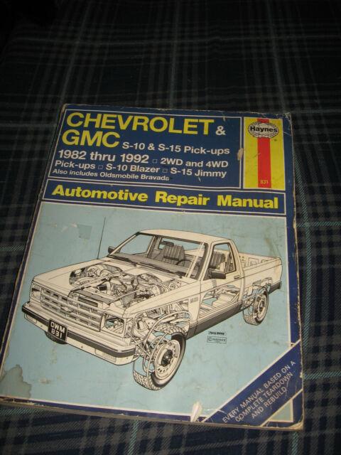 Chevrolet Repair Manual