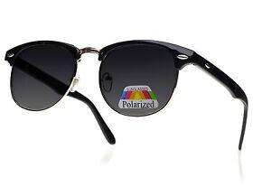 Men-Women-Ladies-Sunglasses-New-Classic-1980-s-Full-UV400-Black-Gold-Polarised