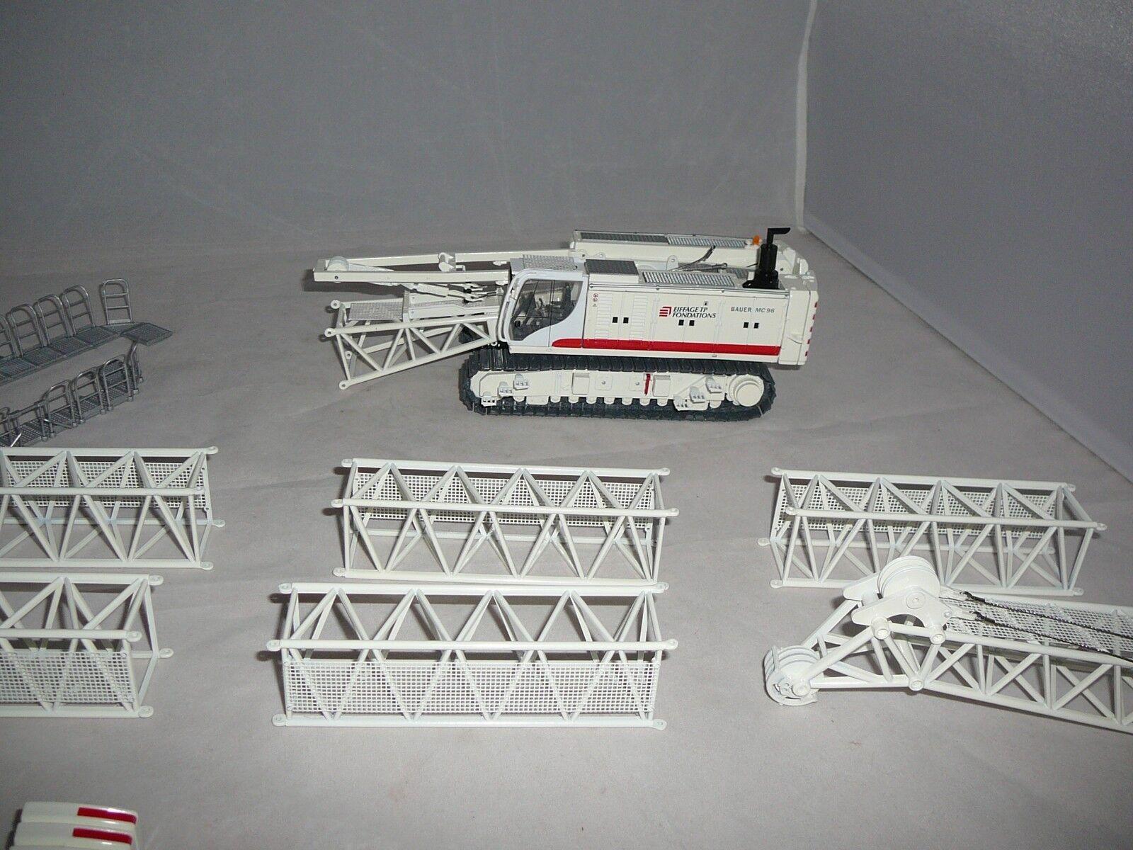 Bauer-mc96 avec schlitzwandfräse bc35 et HDS-T-pelles Eiffage mesure 1 50