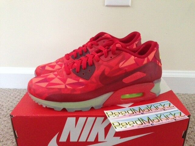 Nike Air Max 90 Ice Ice Ice Gym Red Mens sizes daa8d4