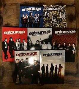 COFFRETS DVD SERIE COMEDIE : ENTOURAGE - SAISONS 1 A 8 INTEGRALE - ACTEUR STAR