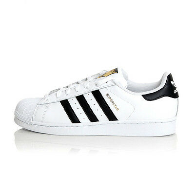 Adidas Superstar Foundation White/Black-White (C77124)