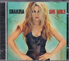 CD 12T SHAKIRA SHE WOLF DE 2009 NEUF SCELLE