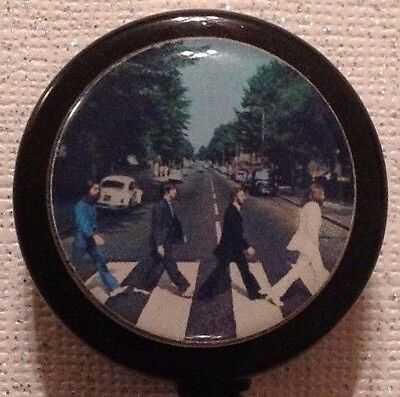 Bling Retractable Badge Reel Name ID Pull Clip Holder Lanyard The Beatles Gift