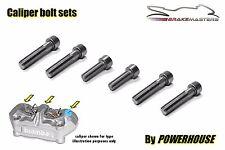 Ducati Monster S4RS Stainless joint bolt set Brembo radial front brake calipers