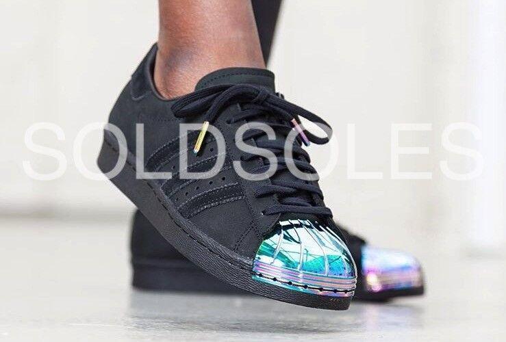 online retailer 15cef 757ad L  adidas superstar metallo di metallo superstar nero   iridescente ...