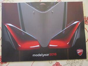 CATALOGUE MOTO : DUCATI : MODELYEAR 2018     12/2017   - EN FRANCAIS -