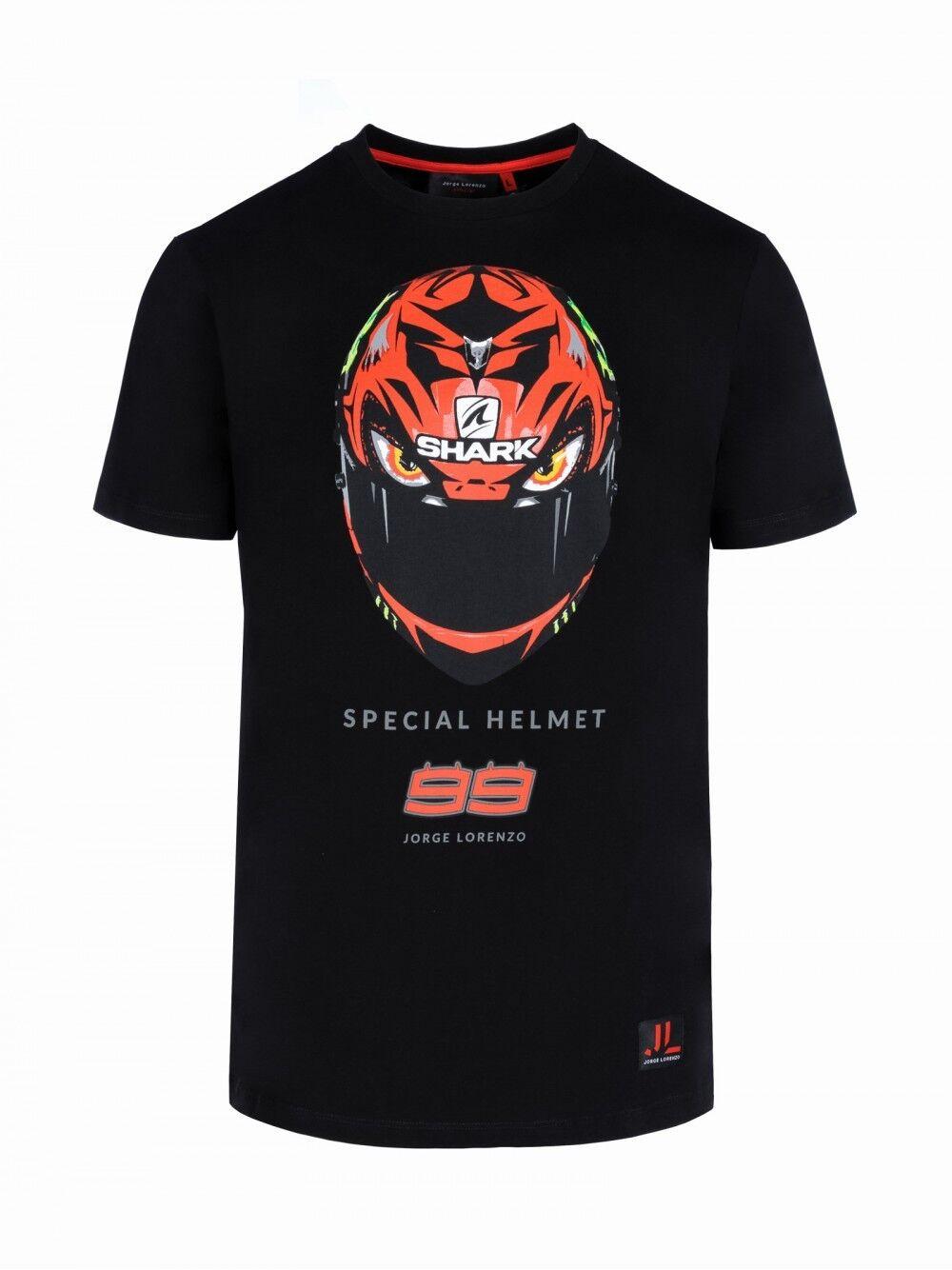 86e6dd5b2b3482 Jorge Lorenzo Official Diablo Helmet T-Shirt - 18 31205 2018 nrplse4443-T -Shirts
