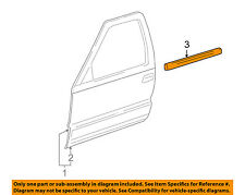 HYUNDAI OEM Door-Window Sweep Belt Molding Weatherstrip Right 822202M002