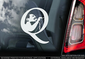 Queen-Car-Window-Sticker-Freddie-Mercury-Rock-Band-Music-Decal-Sign-V02