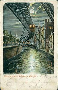 Ansichtskarte-Schwebebahn-Elberfeld-Barmen-1901-Nr-881