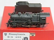 Westside Models Brass H O, Pennsylvania, G-5, 4-6-0 Steam Locomotive & Tender