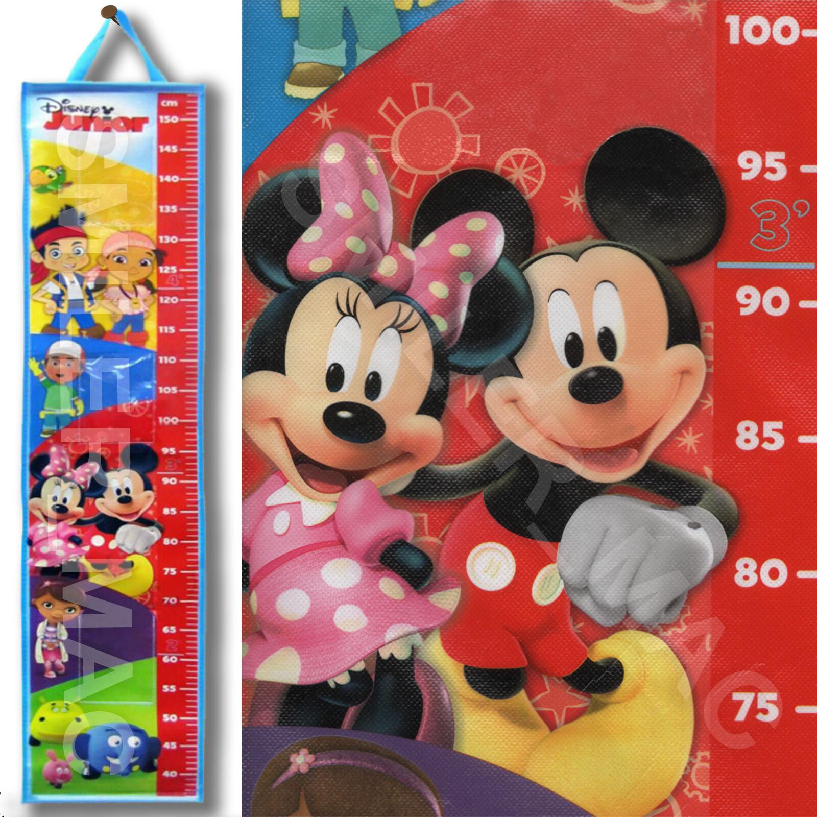 Disney Junior Height Chart Mickey Minnie Mouse Pirates Children Kids