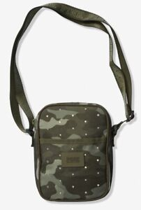 Victoria-039-s-Secret-PINK-Camo-Crossbody-Bag-Small-Rhinestones-Light-Weight-New