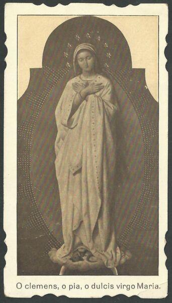 Estampa Antigua De La Virgen Andachtsbild Santino Holy Card Santini Ahorra 50-70%