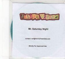(DW821) Julian Velard, Mr. Saturday Night - 2010 DJ CD