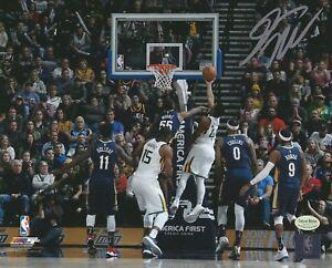 """Donovan Mitchell signed Jazz """"41 Point Game"""" auto 8x10 NBA photo (MITCHELL COA)"""